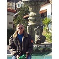 John at the fountain in Seaport Village