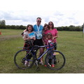 bicycle Parkinsons children family medal