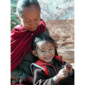 kids mother smile nepal ramechhap