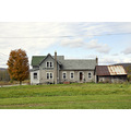 upstate newyork road autumn fall foliage barn farm house tree