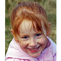 girl child children redhead smiling