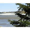 6/30  April 6, 2007 A little drive along the Red River in Manitoba, Canada. The river is caus...