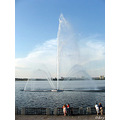 Dniepropetrovsk fountain embankment Dnipro