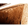 frost car sepia window