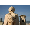 Decorative chimneys by Gaudi