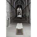 easternstate penitentiary philadelphia pa prison cell block bench