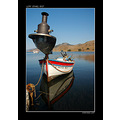 lamp boat sea fishing lesvos greece kalo limani