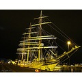 SORLANDET Tall Ship Race 2011 Halmstad Sweden Skane August Night Light