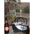 australia victoria monashuniveristy thunderstorm rain bicycle ale