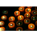 Chuch Frauenkirche Munich Munchen Germany Candles Fire Wax Faith Light