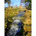 Waterfall at Belton House Grantham