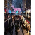 Taken earlier before at 4:28pm.At the Toronto Eaton Centre-On Friday,Nov.23,2012