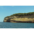 travel scenery pictured rocks munising michigan