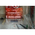 fr paris 2006 palais tokyo bottle chair red closed bar track empty stairs