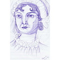 A sketch I did of Jane Austen, my favourite author. And, no, its not because of 'Mr. Darcy', I ac...