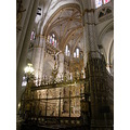 Spain Toledo Catedral Retablo Reja Gotico Gotic Cathedral