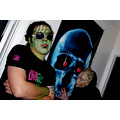 make up zombie mask costume portrait