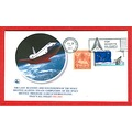 Space shuttle stamps