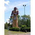 ironwood michigan hiawatha statue upper peninsula