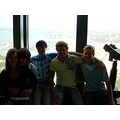 250m up in the Sydney Sky-tower - i took some pictures of the view... but its a mission.