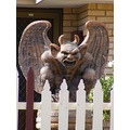 gargoyle sculpture garden feature