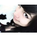 emo scene 2012 black hair tumblr pricess cute girl