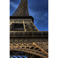 eiffel tower paris france hdr