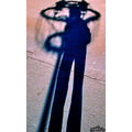 Shadow street lamp Archer