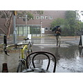 australia victoria monashuniveristy thunderstorm rain bicycle