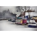 Narrowboats on the Beck