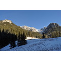 nature landscape mountains tatra poland winter snow