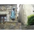 monumento monument sculture escultura tossa mar sea beach girona girl