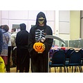 death grim reaper halloween costume fancy dress scary skull pumpkin