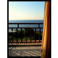 ikaria greece seaview curtain