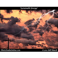 stlouis missouri usa sky clouds sunset lightning KPT drama 062311
