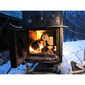 woodstove cold hot