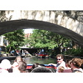 Riverwalk in San Antonio, Tx - boat ride view