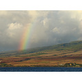 Rainbow over Lahaina side of Maui, September 11, 2007