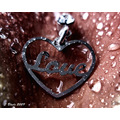 Love Heart wet