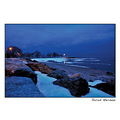 landscape people night blue snow ice water nature ocean