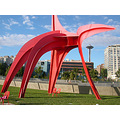 seattle seattlefph olympic sculpture park metal red redfph calder