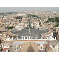 view of the vatican from top dome