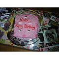 Rubi's first birthday cake baked by Mummy Barry