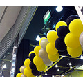 balloons yellow black