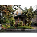 """Abandoned House  From the Series """"Urban Renewal""""  This house at the end of a street near a ra..."""