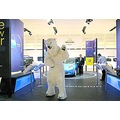 Performing Polar Bear animatronic costume puppet suit