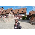 Nurnberg Germany Deutschland Bayern Bavaria Holiday Girl Woman Castle