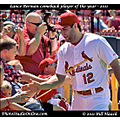 stlouis missouri usa baseball cardinals playoffs win Lance berkman 102711