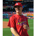 stlouis missouri us usa baseball cardinal player ss BrendanRyan 082909