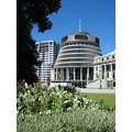 The Beehive NZ seat of Parliament Wellington New Zealand